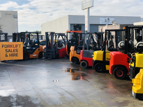Forklifts for sale and hire